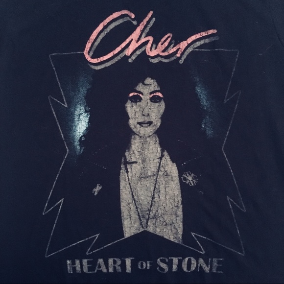 ec2494a0 Hot Topic Tops - Hot Topic || Cher Heart of Stone T shirt